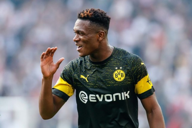 Arsenal keen on Borussia Dortmund centre-back Dan-Axel Zagadou