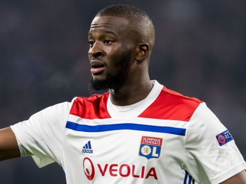 Lyon midfielder Tanguy Ndombele responds to Manchester United transfer link