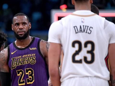 Nike block LeBron James' plan to hand no.23 jersey to Anthony Davis