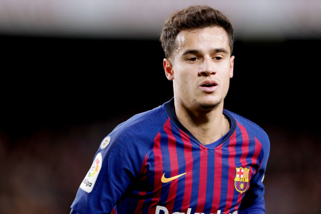 Philippe Coutinho has endured a miserable spell during Barcelona following his pierce from Liverpool