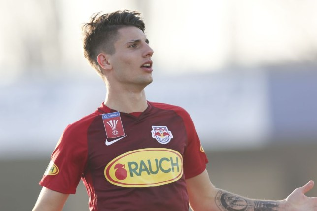Arsenal identify Dominik Szoboszlai as potential replacement for Aaron Ramsey
