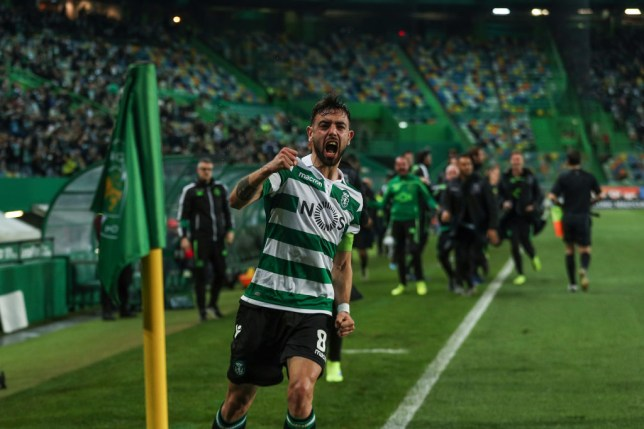 Bruno Fernandes is wanted by a host of clubs