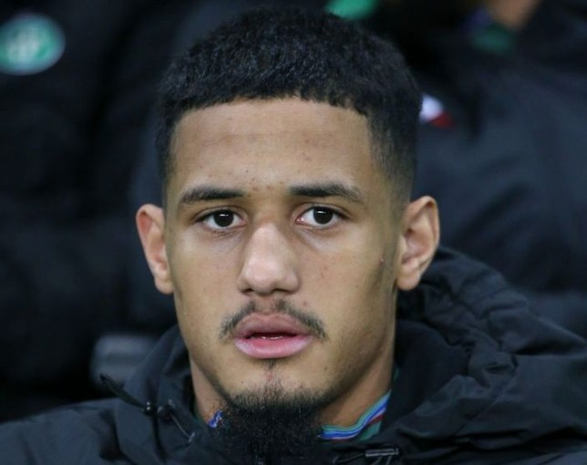William Saliba's agent spotted in Manchester amid United and Arsenal transfer links