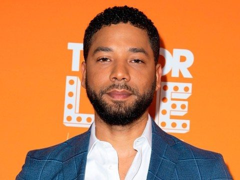 Jussie Smollett pictured with rope still around his neck 40 minutes after making 911 call