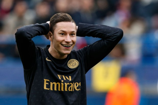 Julian Draxler has been linked with a move to Tottenham
