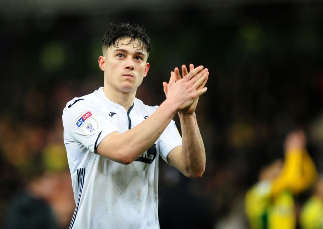 Swansea star Daniel James has joined Manchester United