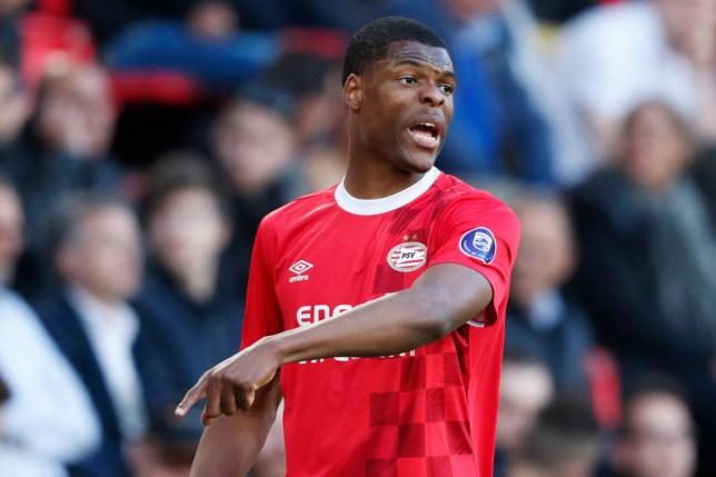 PSV right-back Denzel Dumfries is on Manchester United's radar