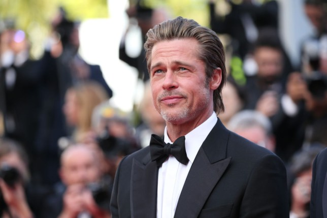 Brad Pitt at Once Upon a Time In Hollywood premiere at Cannes Film Festival 2019