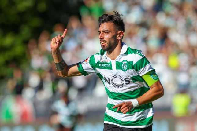 Bruno Fernandes was almost unstoppable for Sporting Lisbon last season