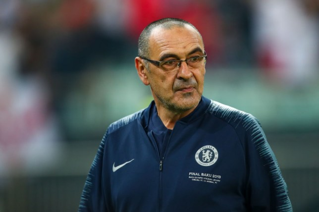 Maurizio Sarri was unveiled as Juventus boss on Thursday