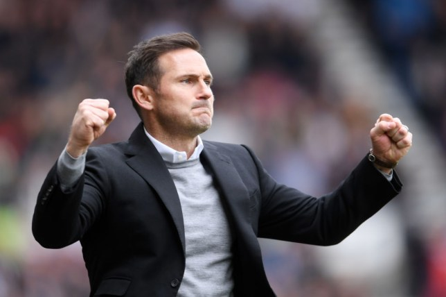Frank Lampard impressed in his first managerial role