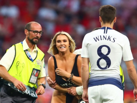 Champions League pitch invader Kinsey Wolanski speaks out and teases Tottenham star Harry Winks