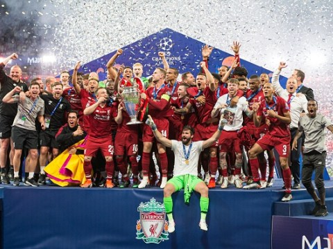 Liverpool stars react to winning Champions League with victory over Tottenham
