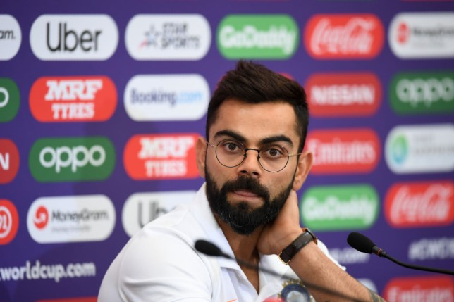 India's Virat Kohli face South Africa at the Cricket World Cup on Wednesday