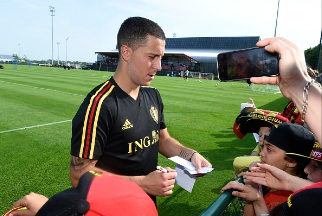 Eden Hazard is still waiting to complete his dream transfer to Real Madrid from Chelsea