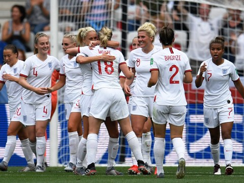 England Women kick off World Cup campaign with nervy win over Scotland