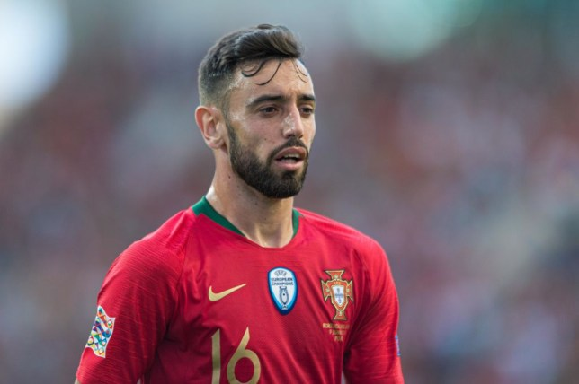 Bruno Fernandes is keen on a move to the Premier League