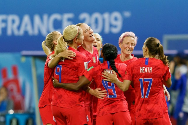 USA's celebrations during their World Cup win over Thailand were widely criticised