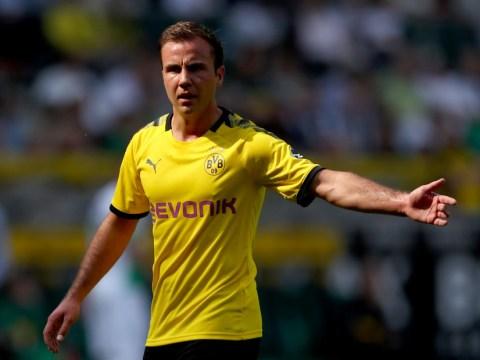 Borussia Dortmund star Mario Gotze responds to Arsenal transfer speculation