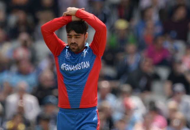 Rashid Khan set an unwanted Cricket World Cup record against England
