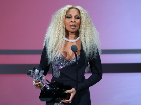 Mary J Blige hails herself as 'living legend' as she accepts BET Lifetime Achievement Award