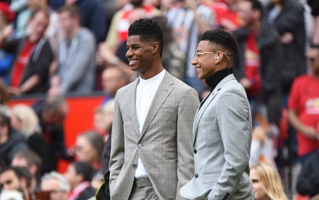 Manchester United duo Marcus Rashford and Jesse Lingard are holidaying together in Miami