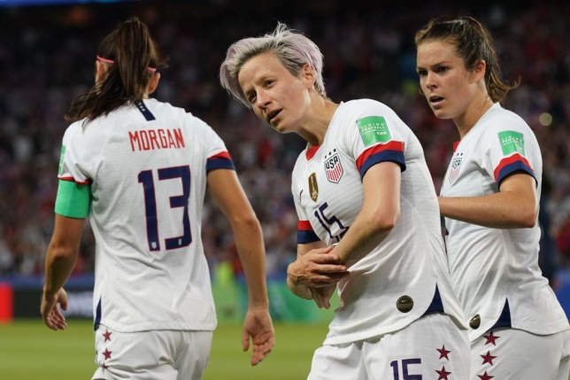 Megan Rapinoe fired USA into the Women's World Cup semi-finals