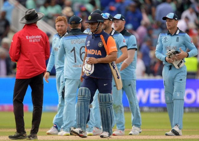 Pakistan fans criticised MS Dhoni for his performance in India's World Cup defeat to England