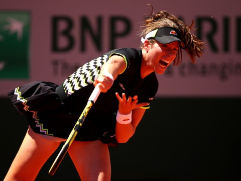 Johanna Konta storms into quarter-finals of the French Open