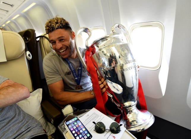 Image result for alex oxlade-chamberlain champions league 2019