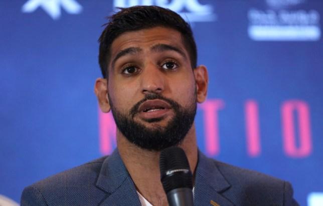 Amir Khan fights Neeraj Goyat in July in Saudi Arabia