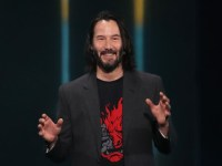 Keanu Reeves arrived at E3 2019