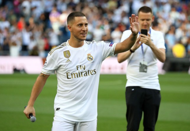 Eden Hazard was officially presented to Real Madrid fans after his move from Chelsea
