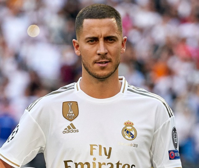 reputable site 614f2 baf49 Eden Hazard reveals he asked Luka Modric for Real Madrid No ...