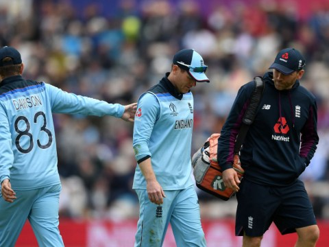 Eoin Morgan scare for England after Jason Roy injury in West Indies World Cup clash