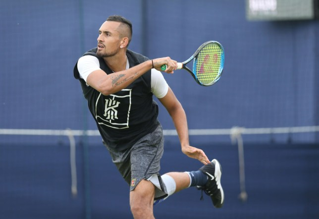 Kyrgios Rules Out Wimbledon Dubs With Murray As He Eyes Federer Djokovic Nadal Scalps Metro News