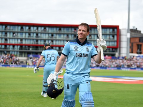 England captain Eoin Morgan speaks out after record-breaking World Cup century