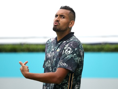Angry Nick Kyrgios slams 'idiot' Queen's umpires and 'idiots in the crowd' after exit