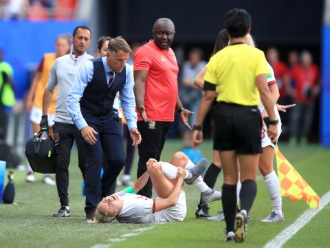 Steph Houghton injury could keep her out of England's World Cup quarter-final against Norway
