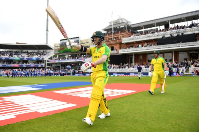 David Warner and Aaron Finch frustrated England at Lord's
