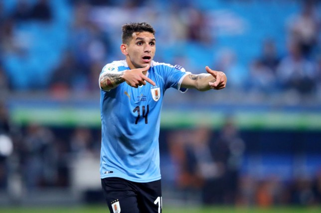 Lucas Torreira has been heavily linked with a summer transfer to AC Milan