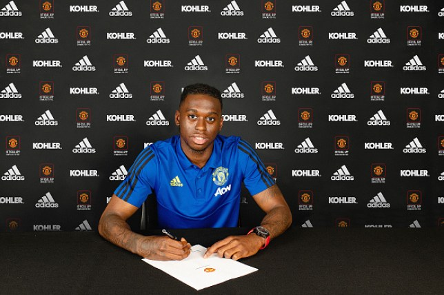 Aaron Wan-Bissaka signed a five-year deal