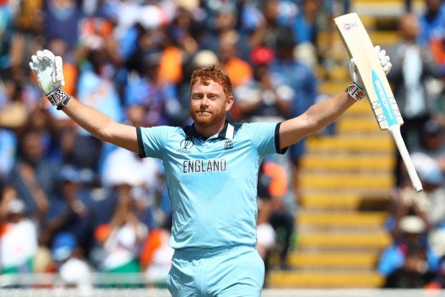 Jonny Bairstow scored a century in England's World Cup win over India