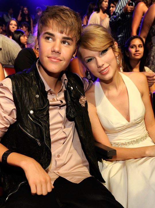 Justin Bieber and Taylor Swift