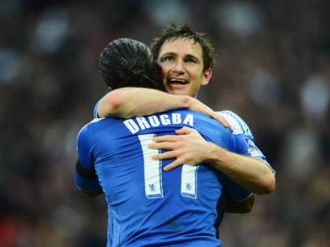 Frank Lampard tells fellow Blues legend Didier Drogba to join him at Chelsea