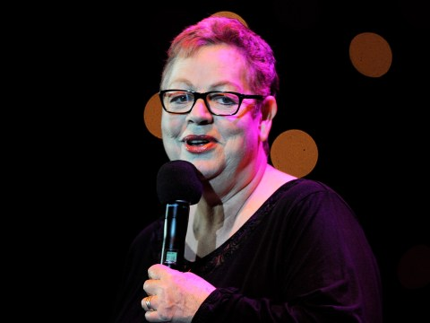 Jo Brand jokes about throwing 'battery acid' at politicians because 'milkshakes are pathetic'
