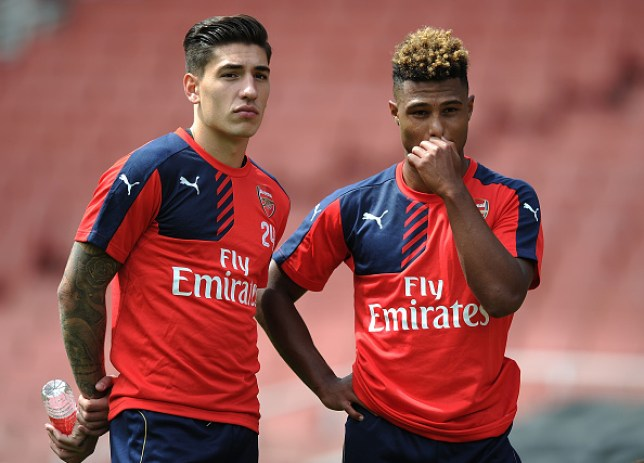 Hector Bellerin and Serge Gnabry were teammates together at Arsenal