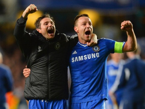 John Terry targeted to replace fellow Chelsea legend Frank Lampard as Derby manager