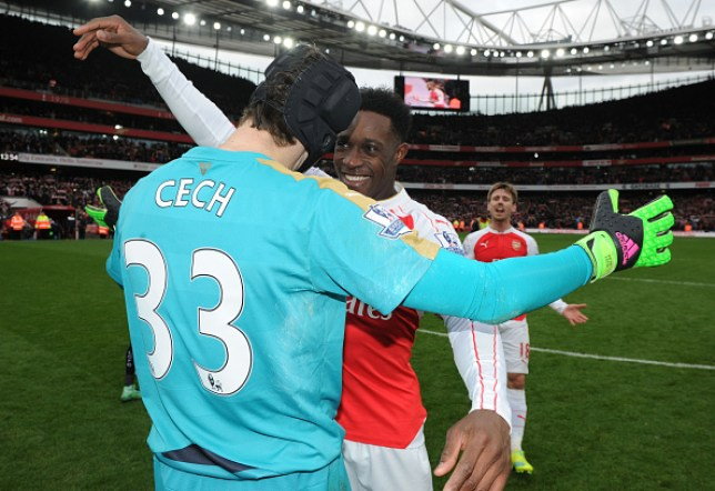 Danny Welbeck and Petr Cech have both been released by Arsenal