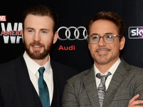 Avengers' Robert Downey Jr could not be more in love with Chris Evans and we love to see it
